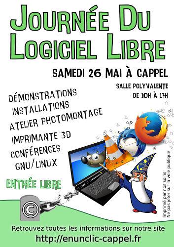 Affiche Journée Du Logiciel Libre